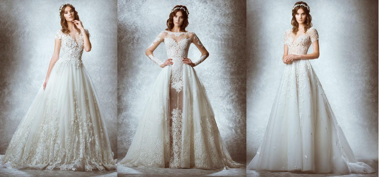 Najpiękniejsze suknie ślubne 2017